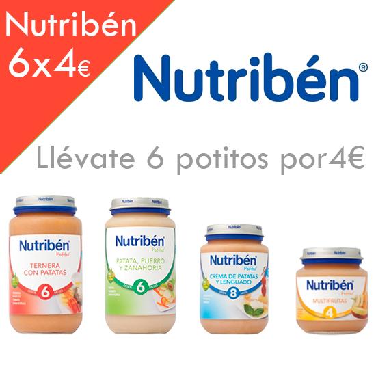 Promoción potitos Nutribén